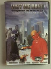 Why We Bang - Straight From The Streets of LA - DVD - Hood, Trap, Gang, Bloods