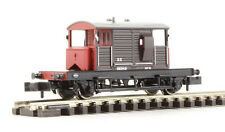 GRAHAM FARISH N GAUGE 377-851 WAGON SR PILL BOX BRAKE VAN SR BROWN FAR377851