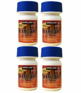 Kirkland Signature Sleep Aid 25mg 4 Bottles (384 Tablets) - Expire Year 2024