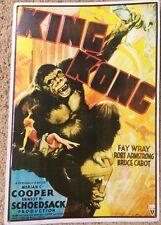 King Kong RKO Retro Movie Poster Art Metal Sign