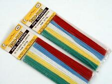 Vintage Yello-Bole Pure Cotton Pipe Cleaners, NOS,NIP, Japanese Made,100 pcs.
