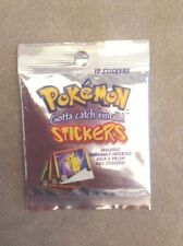 POKEMON GOTTA CATCH EM ALL SERIES 1 STICKERS SEALED PACKET 10 STICKERS