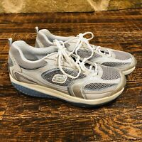 Sketchers Shape Ups Womens Toning Walking Fitness Shoes Size 11 12320 Silver