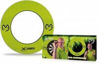 XQMax Michael van Gerwen Dartboard Surround Lightweight EVA MVG Green Jigsaw