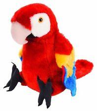 Wild Republic 30cm Plush Macaw Scarlet