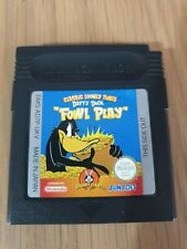 DAFFY DUCK FOUL PLAY NINTENDO GAMEBOY - GB COLOR GBA GAME. UNBOXED UKV PAL
