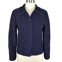 VTG Geiger Austria Collection Wool Jacket Cardigan Sweater 38 EU Medium US