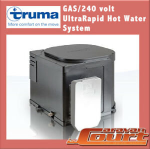 Truma UltraRapid Gas & 240v Electric Hot Water System B14 Service Ultra Rapid
