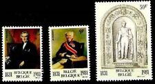 Belgium**DYNASTY & Parliament-3vals- Leopold I  King/RoiKoning-Parlement-1981