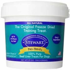 New listing Stewart Pro-Treat Freeze Dried Dog Treats Grain Free Usa Made Beef Liver