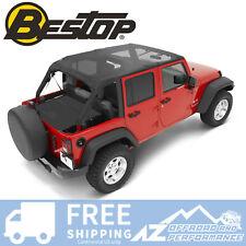 Bestop Header Bikini Safari 07-09 Jeep Wrangler Unlimited JK Mesh 52581-11