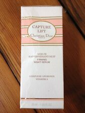 Christian Dior Capture Lift Firming Night Serum Perfume Fragrance 1 oz 30ml