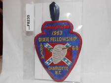 AREA 6B 1963 DIXIE FELLOWSHIP CHARLOTTE N.C. F8235