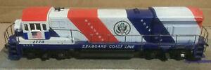 Athearn HO Scale Seaboard Coast Line 1776 U33-B Diesel Locomotive Engine