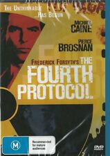 THE FOURTH PROTOCOL - MICHAEL CAINE - NEW & SEALED DVD