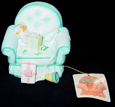 George Good Corp 1987 Musical Chairs Music Box Happy Birthday Presents Tag