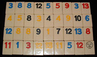 2 Tiles Rummikub Pressman 1990 Replacement Pieces Tiles Numbers You Pick Em