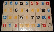2 Tiles Rummikub Pressman 1990 Replacement Pieces Tiles Numbers You Pick Em