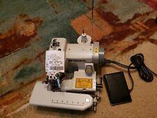 Blindstitcher Hemming sewing machine model Blst-2. Test