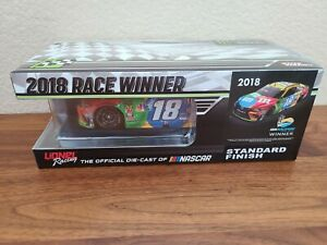2018 #18 Kyle Busch M&M's ISM Phoenix Playoff Win 1/24 Action NASCAR Diecast MIP
