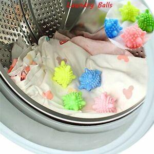 1/6X Eco Friendly Washing Machine Tumble Dryer Clothes Laundry Softener Balls UK