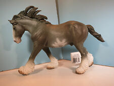 CollectA Figurine-Blue Roan Clydesdale Stallion  Horse-New