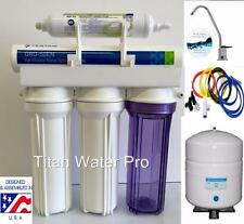 RO-Reverse Osmosis Water Filtration System 1:1 Ratio  Pentair GRO36E Hi Recovery