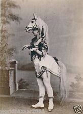 Victoriano curiosidad Caballo Mujer ponygirl Circus Sideshow Freak Show effects