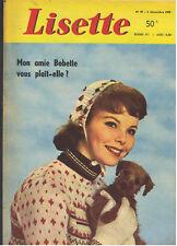 LISETTE N°49  1959