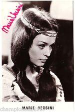 Marie Versini ++Autogramm++ ++WINNETOU 60er Jahre++
