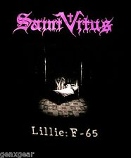 SAINT VITUS cd cvr LILLIE: F-65 Official SHIRT MED New OOP doom metal
