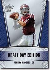 2014 Leaf Johnny Manziel Rookie RC Card Texas a M Aggies Draft Day