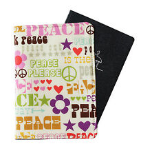 PASSPORT COVER/FOLDER/WALLET - THINK PEACE crafted by Graggie Australia*GA