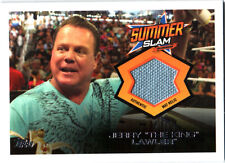 WWE Jerry Lawler 2013 Topps Triple Threat SummerSlam Event Used Relic Card FD30