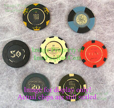 "FALLOUT New Vegas Collector's Edition ""Lucky 7 Poker Chips"" EXCELLENT Set!"