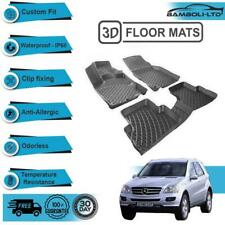 2012~2016 Easy to clean odorless w166 Car floor mat For Mercedes-Benz ML63 AMG
