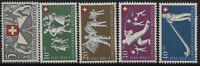 Svizzera - 1951 - Pro Patria - Unificato nn.507/511 - nuovi - MNH
