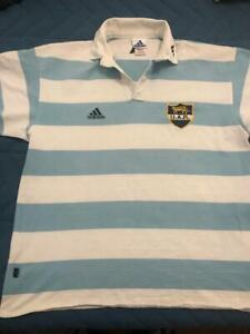 Adidas Argentina Rugby Men's Home Jersey whith number 23 in the back