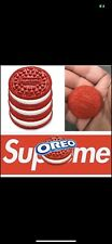 Supreme Oreo cookies. 3 per pack, never opened. New and sealed !