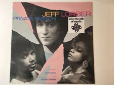 Jeff Lorber - Private Passion - VINYL - NEW SEALED but cutout to card see Pic2