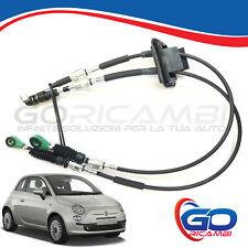 KIT CAVI LEVA CAMBIO MARCE PER FIAT 500 DAL 2007 CON START E STOP 55233067