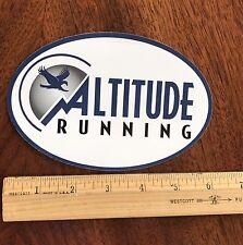 Altitude Running Sticker Colorado Outdoor Decal Jogging Run Marathon Sports