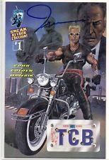 SHI / DAREDEVIL 1 Flip Comic TCB Signed Tucci 1997