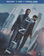 TENET BLURAY & DVD & DIGITAL SET with Robert Pattinson & John David Washington