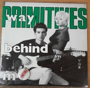 "Primitives, Way Behind Me, NEW/MINT UK 7"" vinyl single in 'Gift Pack' sleeve"