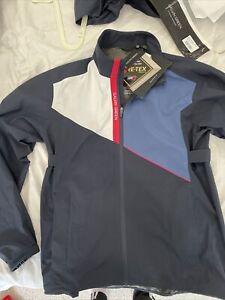 Galvin Green Men's Apollo GoreTex Paclite Waterproof Jacket - Blue Large