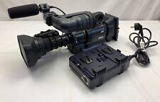 JVC GY-HD200 + Fujinon Th16x5.5BRMU + WCV-82SC + Ladegerät IDX Endura VL-2 Plus