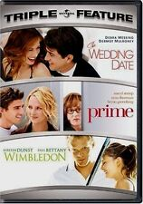 The Wedding Date / Prime / Wimbledon Triple Feature NEW 2 DVD Set Messing Streep