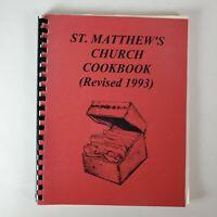 St Matthews Church Cookbook - Regional Catholic Cookbook