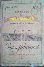 Album N° 6 Tuilerie et Briqueterie de G Simonnet  à Pargny sur Saulx Marne 51